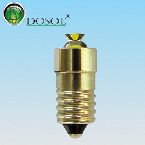 Side Emitter LED Light 1V-9V / 1W / E10