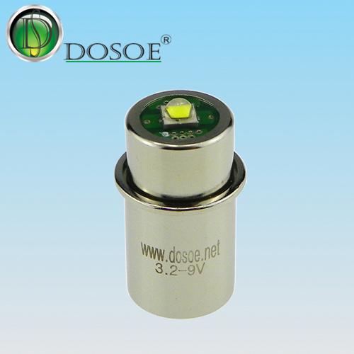 Maglite flashlight bulb 3.2V-9V / 3W /  Maglite base