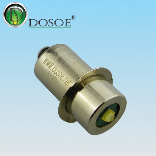 3V PR base dimmable LED flashlight bulbs