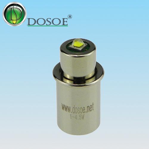 Small Cover LED bulb for Maglite  1V-4.5V / 3W / Maglite base