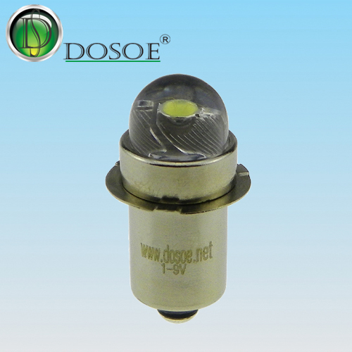 LED Replacement bulb  1V-9V / 0.5W / P13.5S