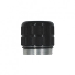 Glass breaking tail cap for D Cell Maglite torch