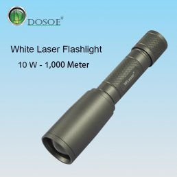 White Laser Flashlights